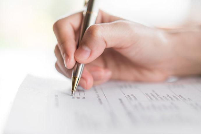 test notarialpara las personas que soliciten un crédito hipotecario.