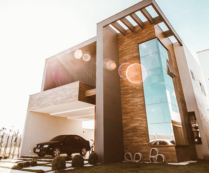 Casa moderna, una construcción hecha con un préstamo autopromotor
